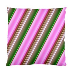Pink And Green Abstract Pattern Background Standard Cushion Case (One Side)