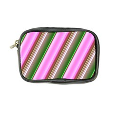 Pink And Green Abstract Pattern Background Coin Purse