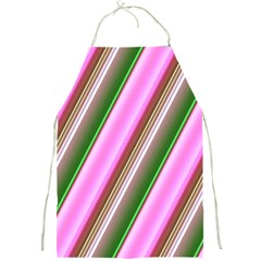 Pink And Green Abstract Pattern Background Full Print Aprons