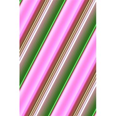 Pink And Green Abstract Pattern Background 5 5  X 8 5  Notebooks
