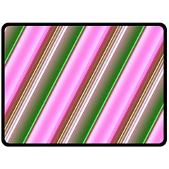 Pink And Green Abstract Pattern Background Fleece Blanket (large)
