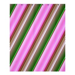 Pink And Green Abstract Pattern Background Shower Curtain 60  X 72  (medium)