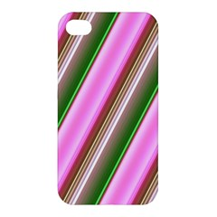 Pink And Green Abstract Pattern Background Apple Iphone 4/4s Hardshell Case