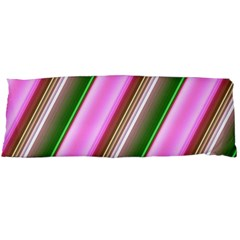 Pink And Green Abstract Pattern Background Body Pillow Case Dakimakura (two Sides)