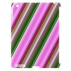 Pink And Green Abstract Pattern Background Apple Ipad 3/4 Hardshell Case (compatible With Smart Cover)