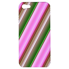 Pink And Green Abstract Pattern Background Apple iPhone 5 Hardshell Case