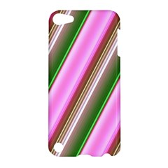 Pink And Green Abstract Pattern Background Apple iPod Touch 5 Hardshell Case