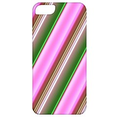 Pink And Green Abstract Pattern Background Apple iPhone 5 Classic Hardshell Case