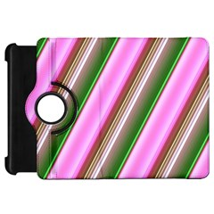 Pink And Green Abstract Pattern Background Kindle Fire HD 7