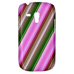 Pink And Green Abstract Pattern Background Galaxy S3 Mini
