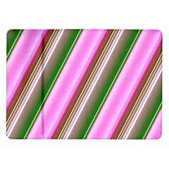 Pink And Green Abstract Pattern Background Samsung Galaxy Tab 10 1  P7500 Flip Case