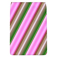 Pink And Green Abstract Pattern Background Flap Covers (L)