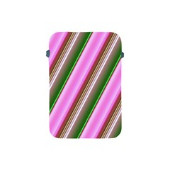 Pink And Green Abstract Pattern Background Apple Ipad Mini Protective Soft Cases