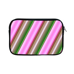 Pink And Green Abstract Pattern Background Apple iPad Mini Zipper Cases