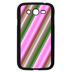 Pink And Green Abstract Pattern Background Samsung Galaxy Grand Duos I9082 Case (black)