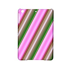 Pink And Green Abstract Pattern Background Ipad Mini 2 Hardshell Cases