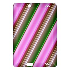 Pink And Green Abstract Pattern Background Amazon Kindle Fire Hd (2013) Hardshell Case