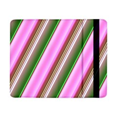 Pink And Green Abstract Pattern Background Samsung Galaxy Tab Pro 8 4  Flip Case