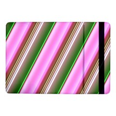 Pink And Green Abstract Pattern Background Samsung Galaxy Tab Pro 10 1  Flip Case
