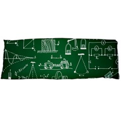 Scientific Formulas Board Green Body Pillow Case (Dakimakura)