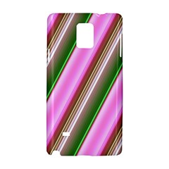 Pink And Green Abstract Pattern Background Samsung Galaxy Note 4 Hardshell Case