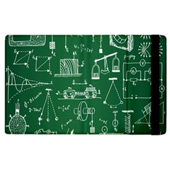 Scientific Formulas Board Green Apple iPad 3/4 Flip Case