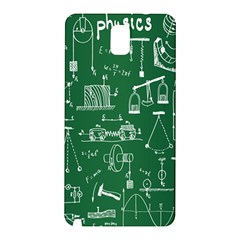 Scientific Formulas Board Green Samsung Galaxy Note 3 N9005 Hardshell Back Case