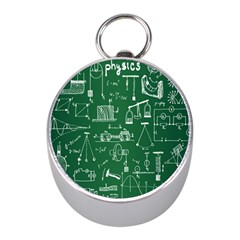 Scientific Formulas Board Green Mini Silver Compasses