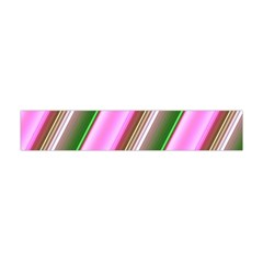 Pink And Green Abstract Pattern Background Flano Scarf (mini)