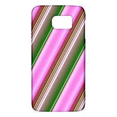 Pink And Green Abstract Pattern Background Galaxy S6