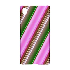Pink And Green Abstract Pattern Background Sony Xperia Z3+