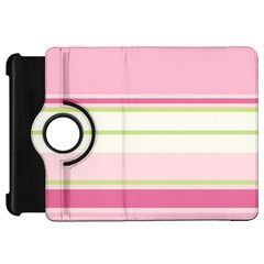 Turquoise Blue Damask Line Green Pink Red White Kindle Fire HD 7