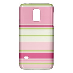 Turquoise Blue Damask Line Green Pink Red White Galaxy S5 Mini