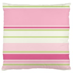 Turquoise Blue Damask Line Green Pink Red White Standard Flano Cushion Case (One Side)