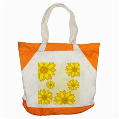 Sunflowers Flower Floral Yellow Accent Tote Bag