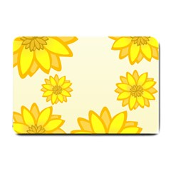 Sunflowers Flower Floral Yellow Small Doormat