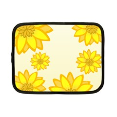 Sunflowers Flower Floral Yellow Netbook Case (Small)