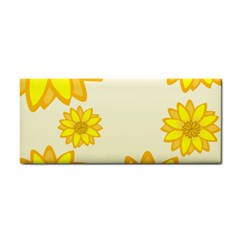 Sunflowers Flower Floral Yellow Cosmetic Storage Cases
