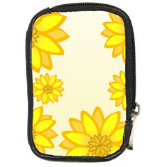 Sunflowers Flower Floral Yellow Compact Camera Cases