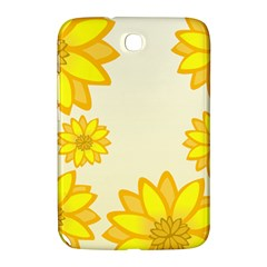 Sunflowers Flower Floral Yellow Samsung Galaxy Note 8.0 N5100 Hardshell Case