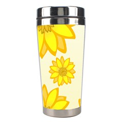 Sunflowers Flower Floral Yellow Stainless Steel Travel Tumblers