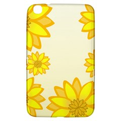 Sunflowers Flower Floral Yellow Samsung Galaxy Tab 3 (8 ) T3100 Hardshell Case