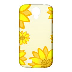 Sunflowers Flower Floral Yellow Samsung Galaxy S4 Classic Hardshell Case (PC+Silicone)