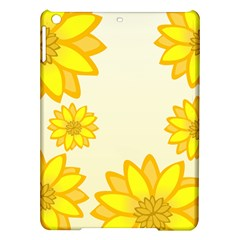 Sunflowers Flower Floral Yellow iPad Air Hardshell Cases