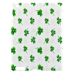 Leaf Green White Apple iPad 3/4 Hardshell Case