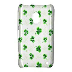 Leaf Green White Nokia Lumia 620