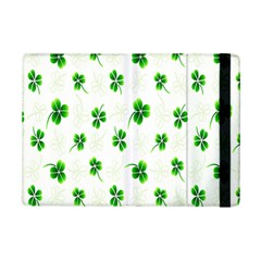 Leaf Green White iPad Mini 2 Flip Cases