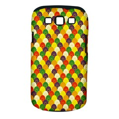 Flower Floral Sunflower Color Rainbow Yellow Purple Red Green Samsung Galaxy S Iii Classic Hardshell Case (pc+silicone)