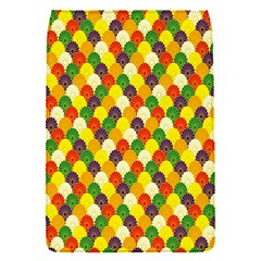 Flower Floral Sunflower Color Rainbow Yellow Purple Red Green Flap Covers (S)