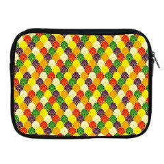 Flower Floral Sunflower Color Rainbow Yellow Purple Red Green Apple iPad 2/3/4 Zipper Cases